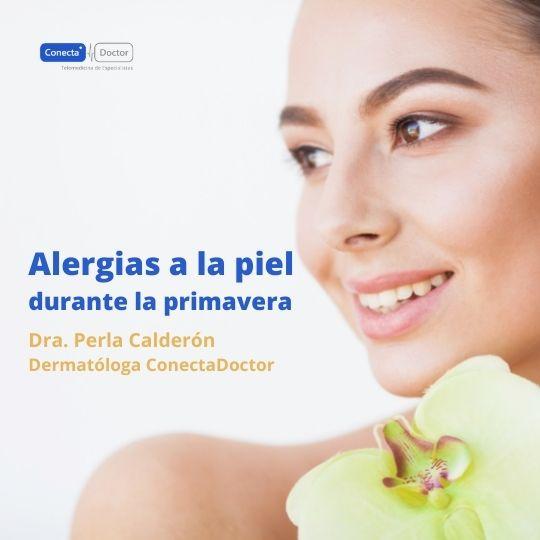 Alergias a la piel durante la primavera