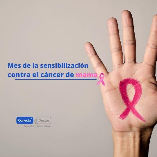 Octubre: mes de la sensibilización contra el cáncer de mama